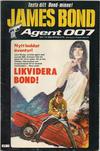 Cover for James Bond (Semic, 1965 series) #7/1983