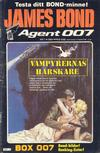 Cover for James Bond (Semic, 1965 series) #1/1984