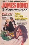 Cover for James Bond (Semic, 1965 series) #3/1984