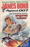 Cover for James Bond (Semic, 1965 series) #8/1984