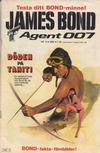 Cover for James Bond (Semic, 1965 series) #4/1985