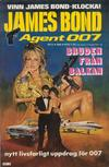 Cover for James Bond (Semic, 1965 series) #6/1985