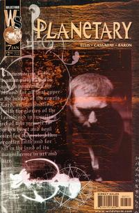 Cover Thumbnail for Planetary (DC, 1999 series) #7