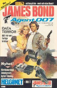 Cover Thumbnail for James Bond (Semic, 1965 series) #1/1986