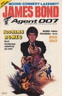 Cover Thumbnail for James Bond (Semic, 1965 series) #1/1985
