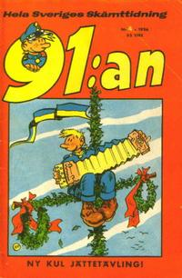 Cover Thumbnail for 91:an (Åhlén & Åkerlunds, 1956 series) #4/1956