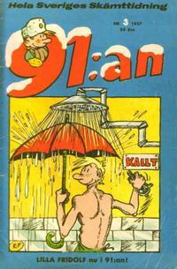 Cover Thumbnail for 91:an (Åhlén & Åkerlunds, 1956 series) #3/1957