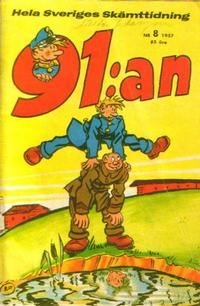 Cover Thumbnail for 91:an (Åhlén & Åkerlunds, 1956 series) #8/1957