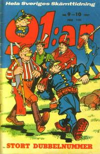 Cover Thumbnail for 91:an (Åhlén & Åkerlunds, 1956 series) #9-10/1957