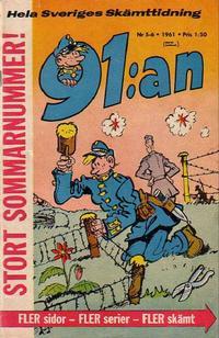 Cover Thumbnail for 91:an (Åhlén & Åkerlunds, 1956 series) #5-6/1961