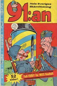 Cover Thumbnail for 91:an [delas] (Åhlén & Åkerlunds, 1956 series) #8/1964