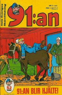 Cover Thumbnail for 91:an (Semic, 1965 ? series) #2/1969