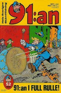 Cover Thumbnail for 91:an [delas] (Åhlén & Åkerlunds, 1956 series) #9/1969