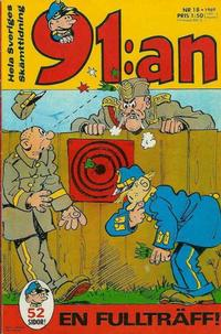 Cover Thumbnail for 91:an (Semic, 1965 ? series) #18/1969