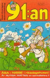 Cover Thumbnail for 91:an [delas] (Åhlén & Åkerlunds, 1956 series) #15/71