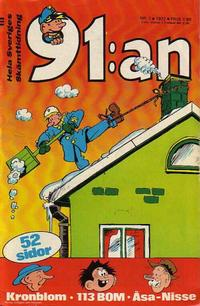 Cover Thumbnail for 91:an (Semic, 1965 ? series) #1/1972