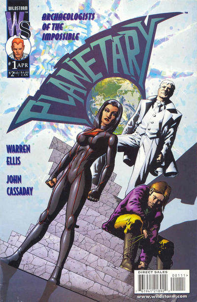 Cover for Planetary (DC, 1999 series) #1