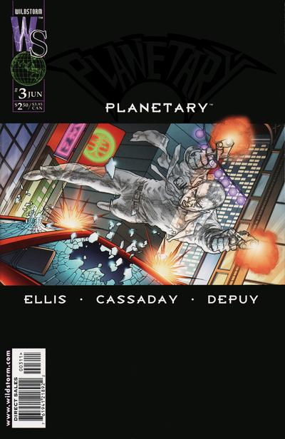 Cover for Planetary (DC, 1999 series) #3