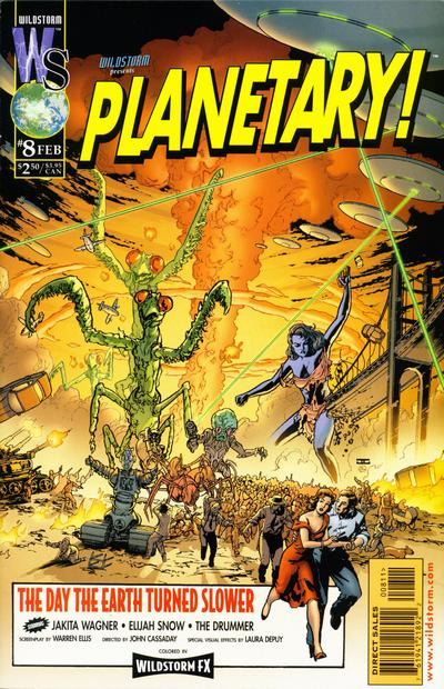 Cover for Planetary (DC, 1999 series) #8