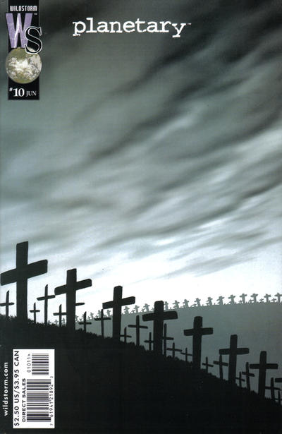 Cover for Planetary (DC, 1999 series) #10