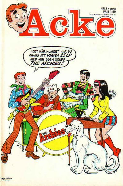 Cover for Acke (Semic, 1969 series) #3/1970