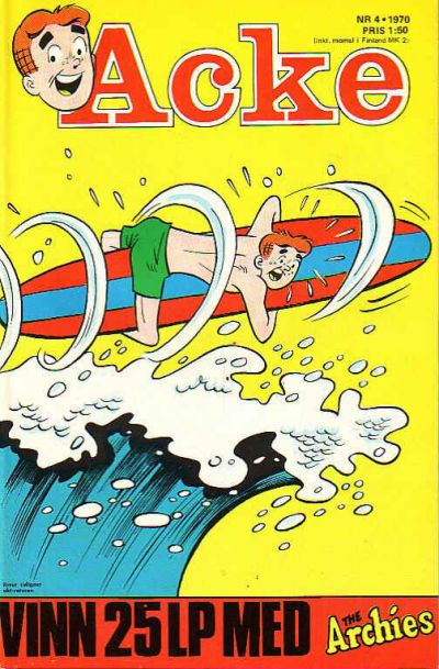 Cover for Acke (Semic, 1969 series) #4/70