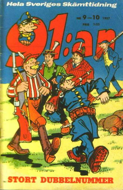 Cover for 91:an (Åhlén & Åkerlunds, 1956 series) #9-10/1957