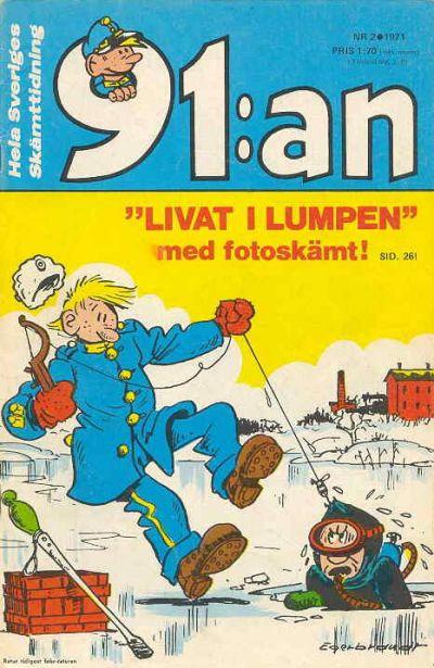 Cover for 91:an [delas] (Åhlén & Åkerlunds, 1956 series) #2/1971