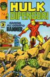 Cover for Hulk E I Difensori (Editoriale Corno, 1975 series) #8