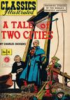 Cover for Classics Illustrated (Thorpe & Porter, 1951 series) #6 [HRN 77-16T] - A Tale of Two Cities