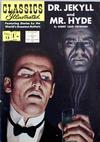 Cover for Classics Illustrated (Thorpe & Porter, 1951 series) #13 [HRN 121] - Dr. Jekyll and Mr. Hyde