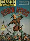 Cover for Classics Illustrated (Thorpe & Porter, 1951 series) #7 [HRN 77-16T] - Robin Hood