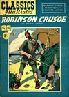 Cover for Classics Illustrated (Thorpe & Porter, 1951 series) #10 [HRN 77-16T] - Robinson Crusoe
