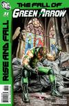 Cover for Green Arrow (DC, 2010 series) #31