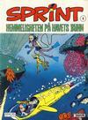 Cover for Sprint (Semic, 1986 series) #6 - Hemmeligheten på havets bunn