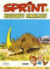 Cover for Sprint (Semic, 1986 series) #8 - Nesehornets hemmelighet