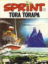 Cover for Sprint (Semic, 1986 series) #17 - Tora Torapa [2. opplag]