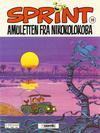 Cover for Sprint (Semic, 1986 series) #20 - Amuletten fra Nikokolokoba [2. opplag]