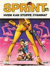 Cover for Sprint (Semic, 1986 series) #27 - Hvem kan stoppe Cyanina? [2. opplag]