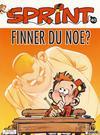 Cover for Sprint (Semic, 1986 series) #40 - Lille Sprint Finner du noe?