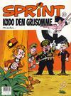 Cover for Sprint (Semic, 1986 series) #23 - Kodo den grusomme [3. opplag]