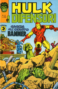 Cover Thumbnail for Hulk E I Difensori (Editoriale Corno, 1975 series) #8