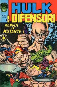 Cover Thumbnail for Hulk E I Difensori (Editoriale Corno, 1975 series) #10