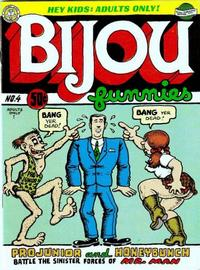 Cover Thumbnail for Bijou Funnies (Kitchen Sink Press, 1972 series) #4 [2nd printing]