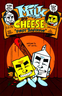Cover Thumbnail for Milk & Cheese's First Number Two (Slave Labor, 1994 series) #1 (5)