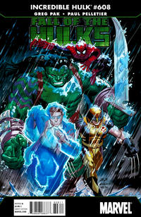 Cover Thumbnail for Incredible Hulk (Marvel, 2009 series) #608 [Direct Edition]
