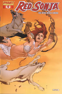 Cover Thumbnail for Red Sonja (Dynamite Entertainment, 2005 series) #9 [Mel Rubi Cover]