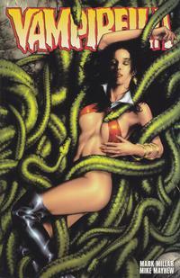 Cover for Vampirella (Harris Comics, 2001 series) #1 [Mike Mayhew Red Foil Cover]