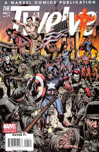 Cover Thumbnail for The Twelve (Marvel, 2008 series) #1 [2nd Printing Variant]