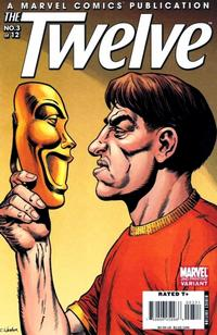 Cover Thumbnail for The Twelve (Marvel, 2008 series) #3 [2nd Printing Variant]